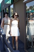 Camilla Belle - short dress and sandals - shopping at Planet Blue, Malibu - July 30, 2011 - (HQ x 21)