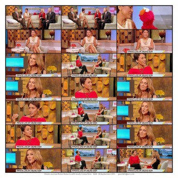 Robin Roberts--Celine Dion--legs--dream women--20.09.2011--GMA--ABC