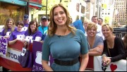 Stephanie Abrams - Rack-tacular  @ Today Show