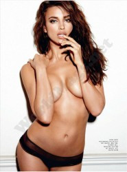 Irina Shayk Esquire UK Febrero 2012