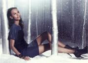 Лия Кебеде, фото 76. Liya Kebede - Ann Taylor Holiday 2011 LookBook (22x), foto 76