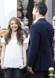 Сара Хайланд, фото 592. Sarah Hyland Extra at The Grove in LA - 02.02.2012, foto 592