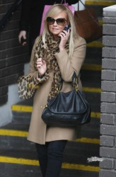 Эмма Бантон, фото 2261. Jan. 23th - London - Emma Bunton Leaving ITV Studios, foto 2261