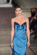 Хилари Рода, фото 624. Hilary Rhoda Zac Posen at New York Fashion Week Fall 2012, foto 624