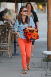 Кристин Кройк, фото 1214. Kristin Kreuk leaving the Kings Road Cafe in West Hollywood, february 16, foto 1214